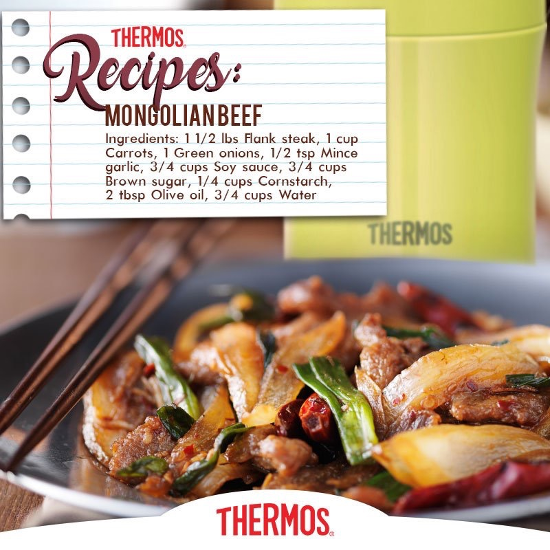 Thermos - Mongolian Beef