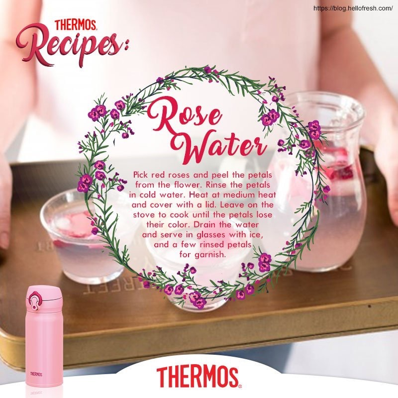 Thermos - Rose Water