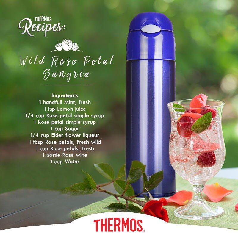 Thermos - Wild Rose Petal Sangria