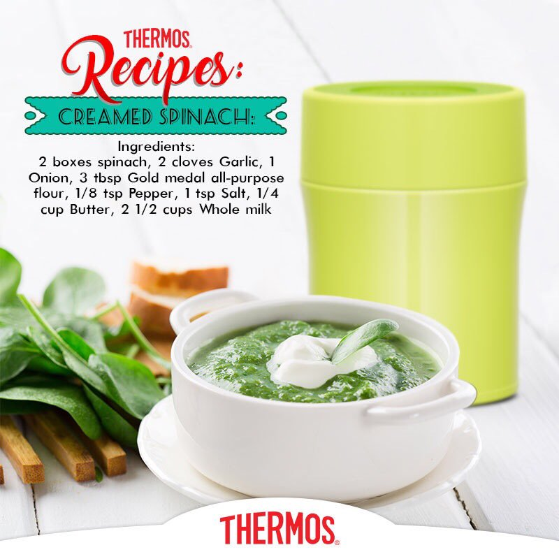 Thermos - Creamed Spinach
