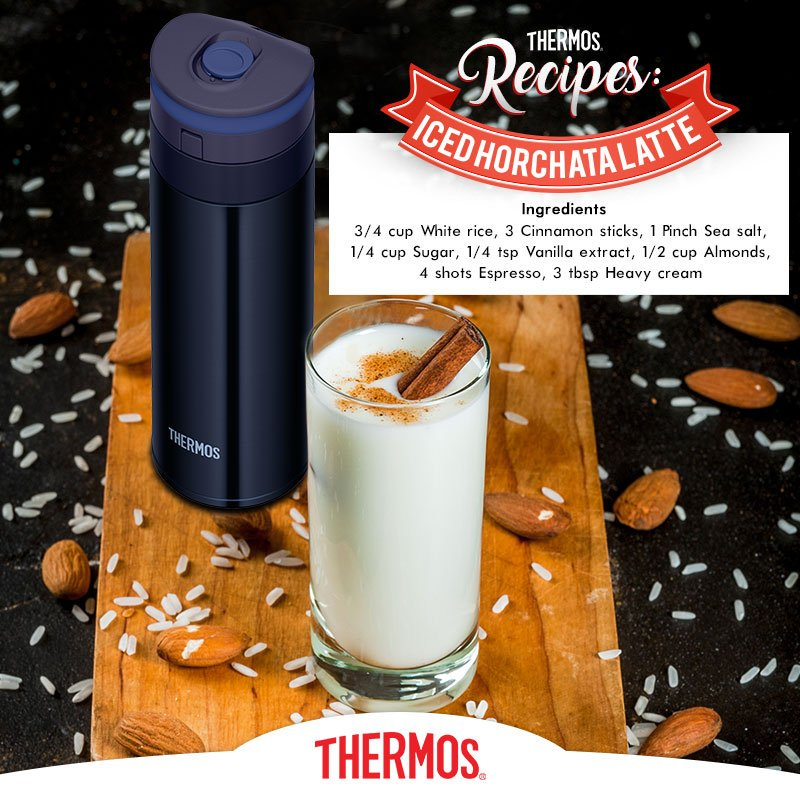 Thermos - Iced Horchata Latte