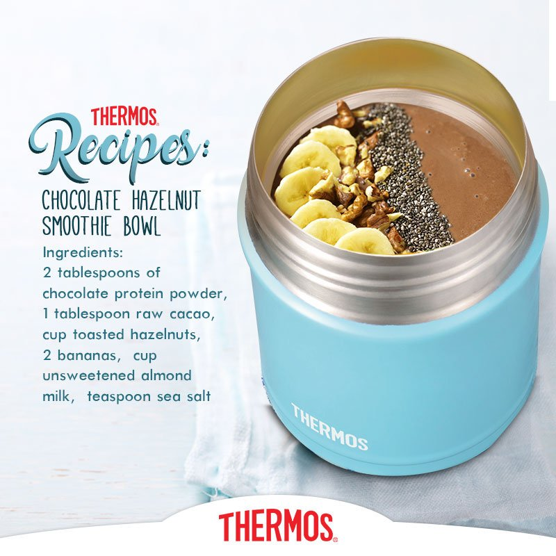 Thermos - Chocolate Hazelnut Smoothie Bowl