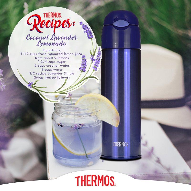 Thermos - Coconut Lavender Lemonade