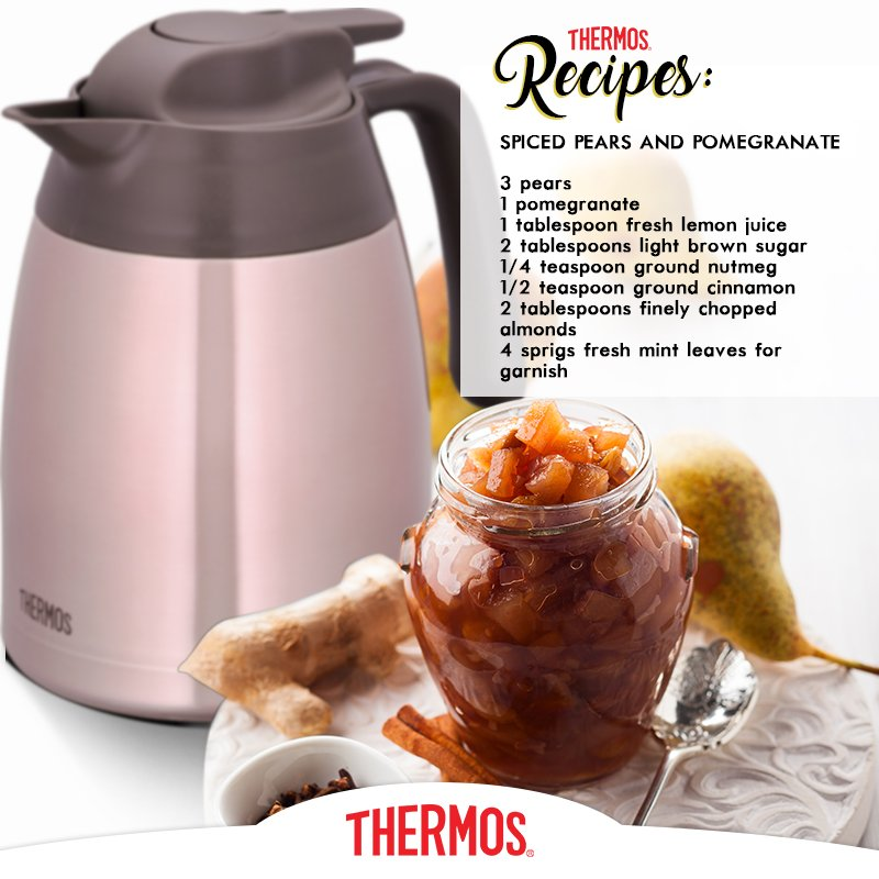 Thermos - Spiced Pears and Pomegranate
