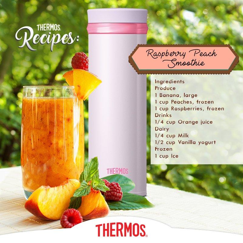 Thermos - Raspberry Peach Smoothie