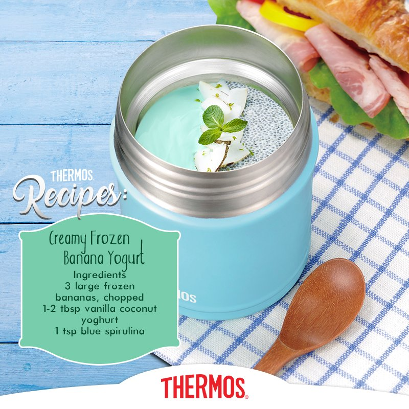 Thermos - Creamy Frozen Banana Yogurt