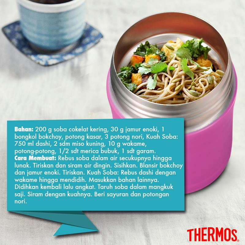 Thermos Indonesia - Soba Miso