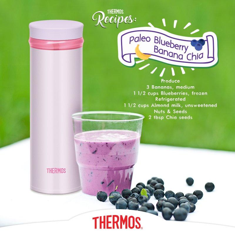 Thermos - Smoothies Paleo Blueberry Banana Chia