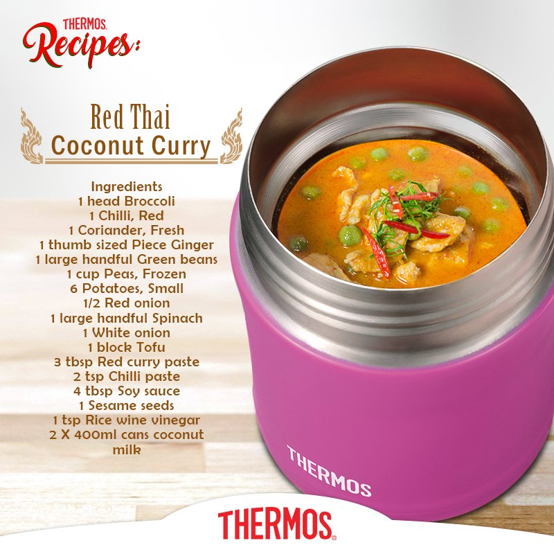 Thermos - Red Thai Coconut Curry
