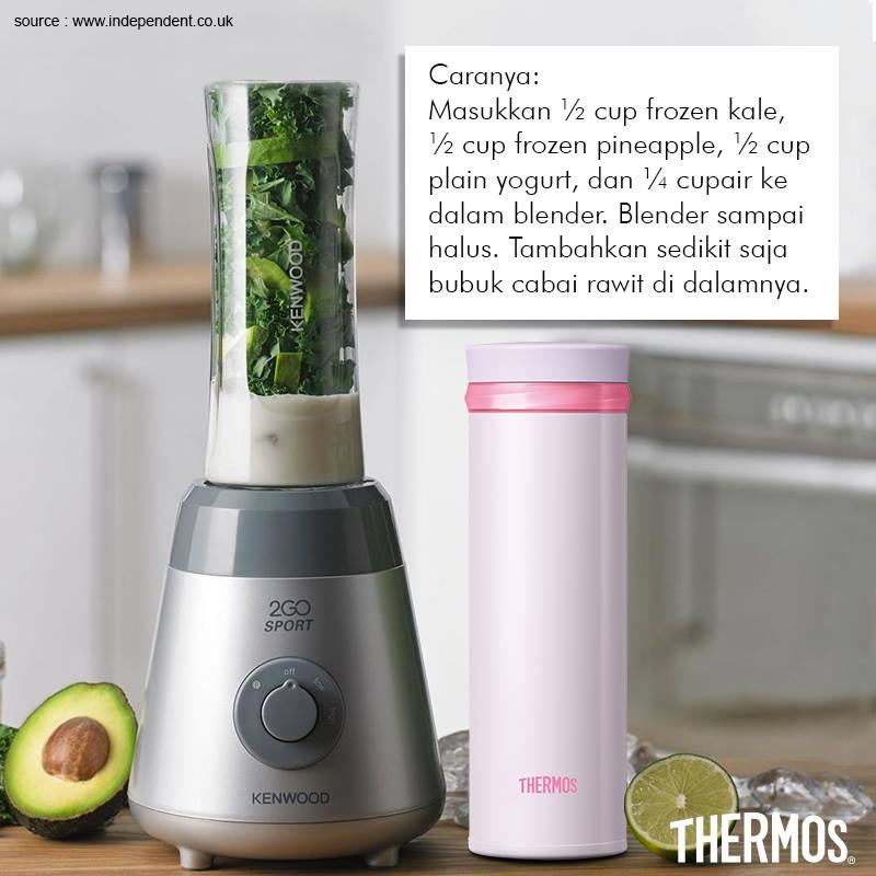 Thermos Indonesia - Green Day Smoothie