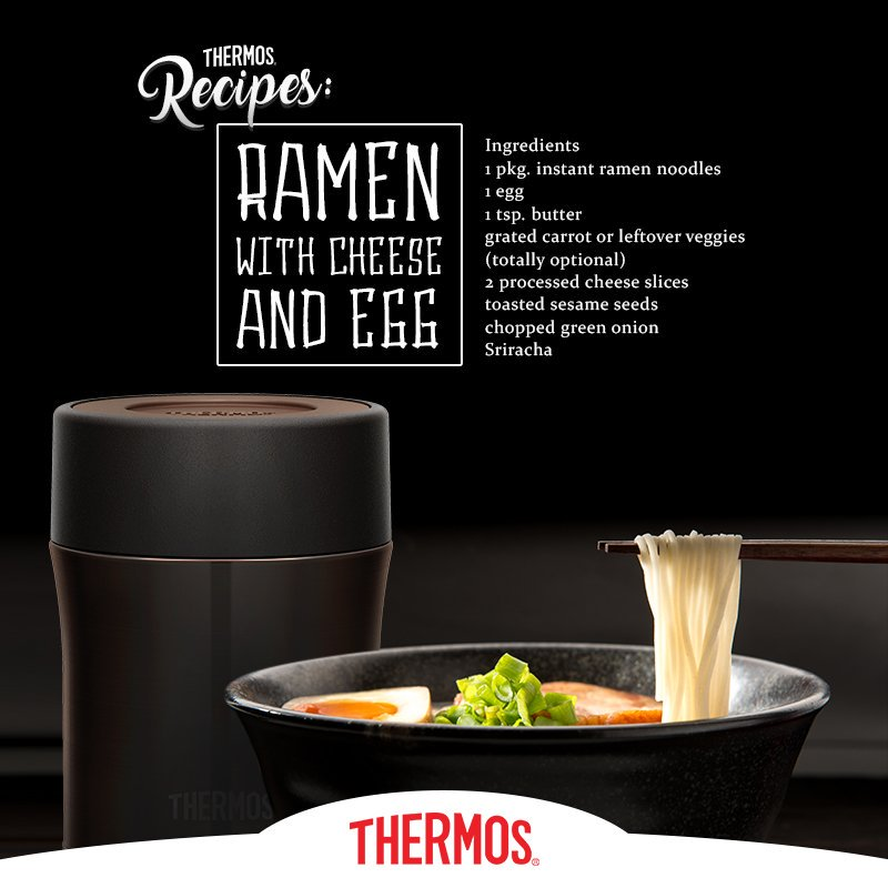 Thermos - Ramen with Cheese and Egg