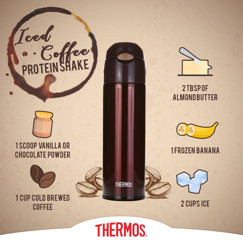 Thermos - Iced Coffee Protein Shake