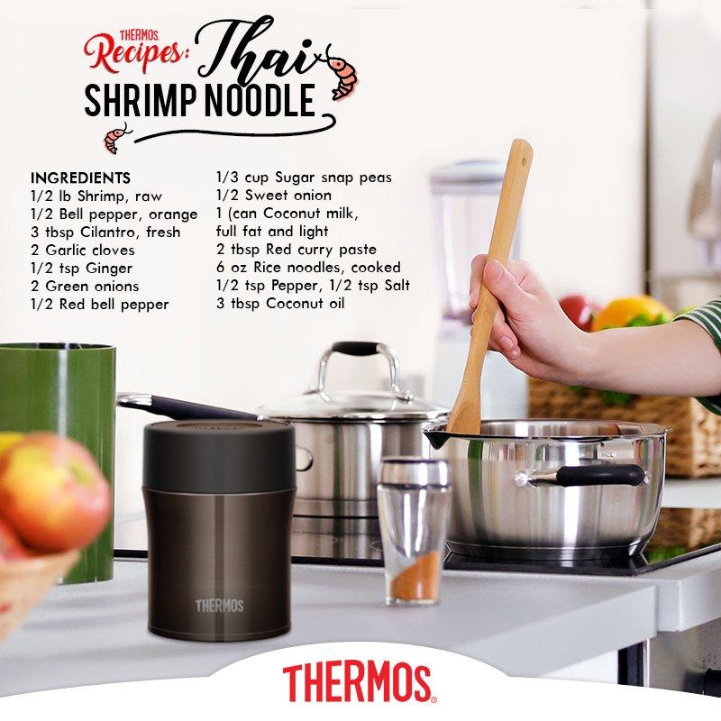 Thermos - Thai Shrimp Noodle