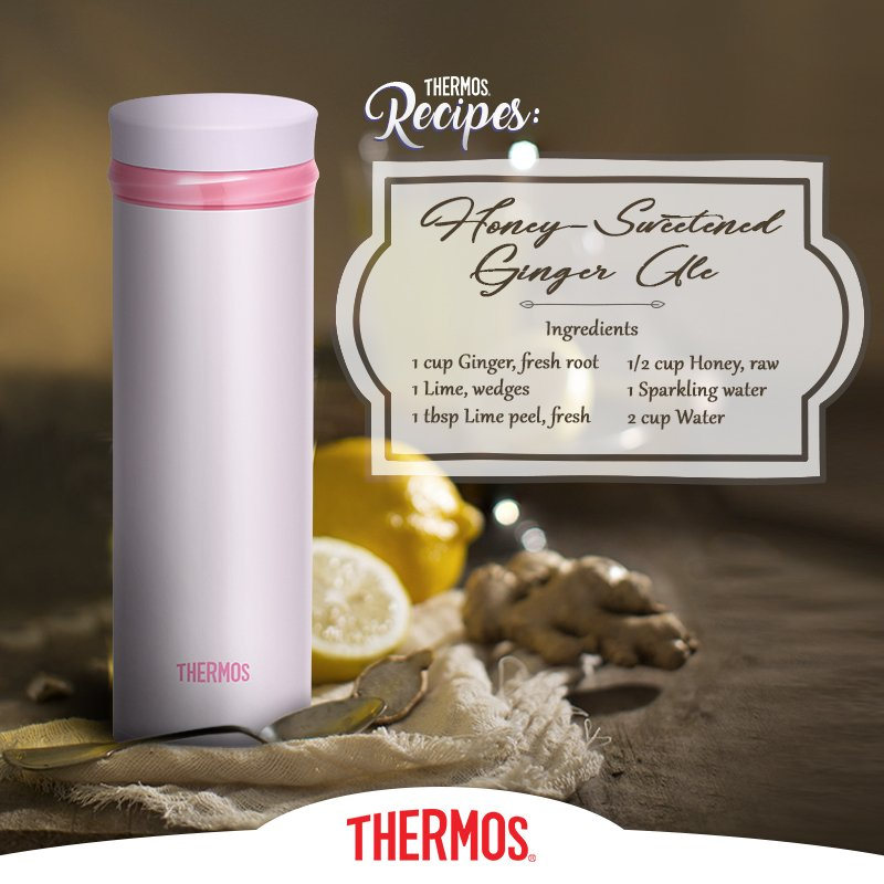 Thermos - Hot Ginger Ale