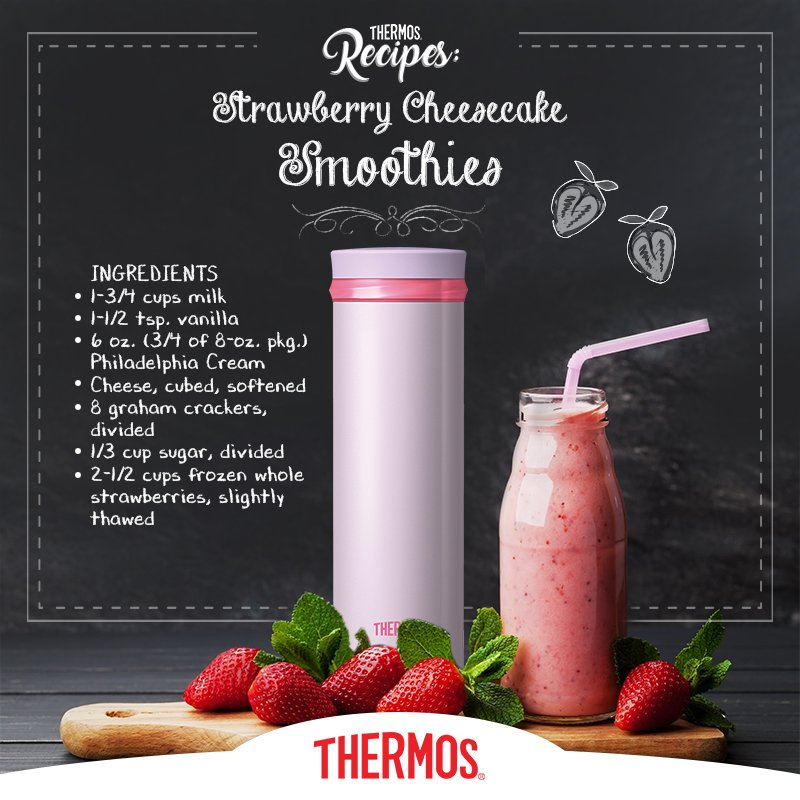 Thermos - Strawberry CheesecakeSmoothie