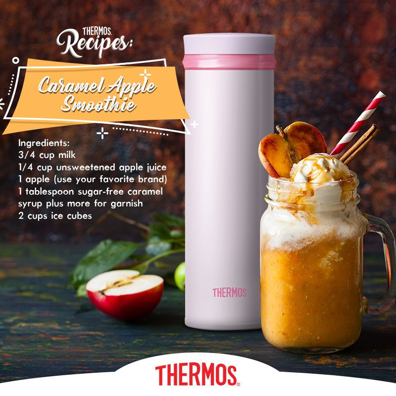 Thermos - Caramel Apple Smoothie