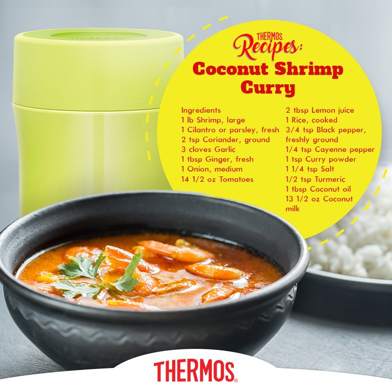 Thermos - Coconut Shrimp Curry