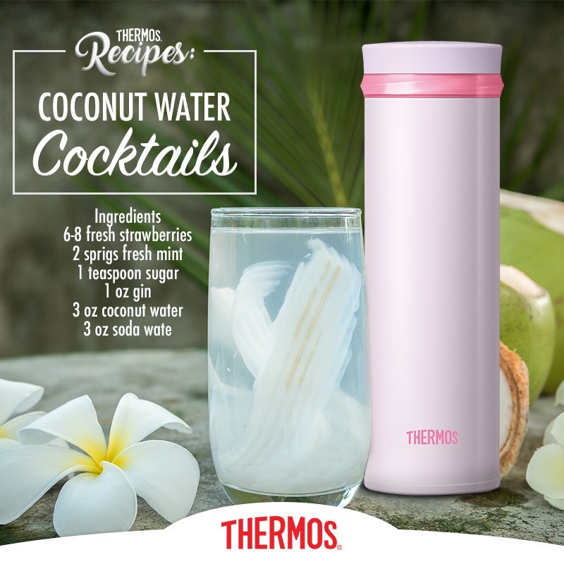 Thermos - Coconut Water Cocktails