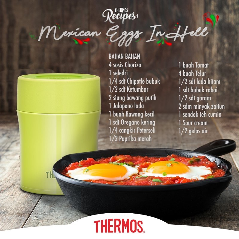 Thermos - Mexican Eggs In Hell