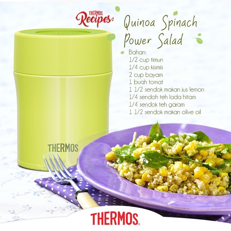 Thermos - Quinoa Spinach Power Salad
