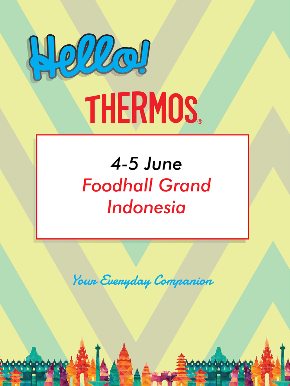 Foodhall Grand Indonesia 4-5 Juni 2016