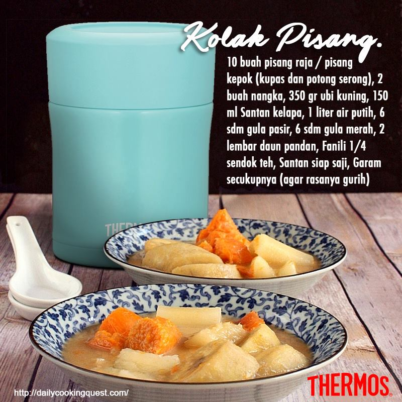 Thermos Indonesia - Kolak Pisang