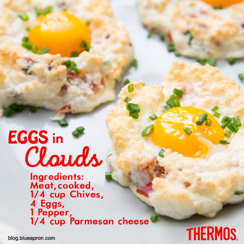 Thermos Indonesia - Egg in Clouds