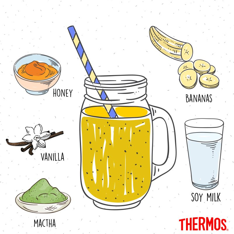 Thermos - Banana Milk