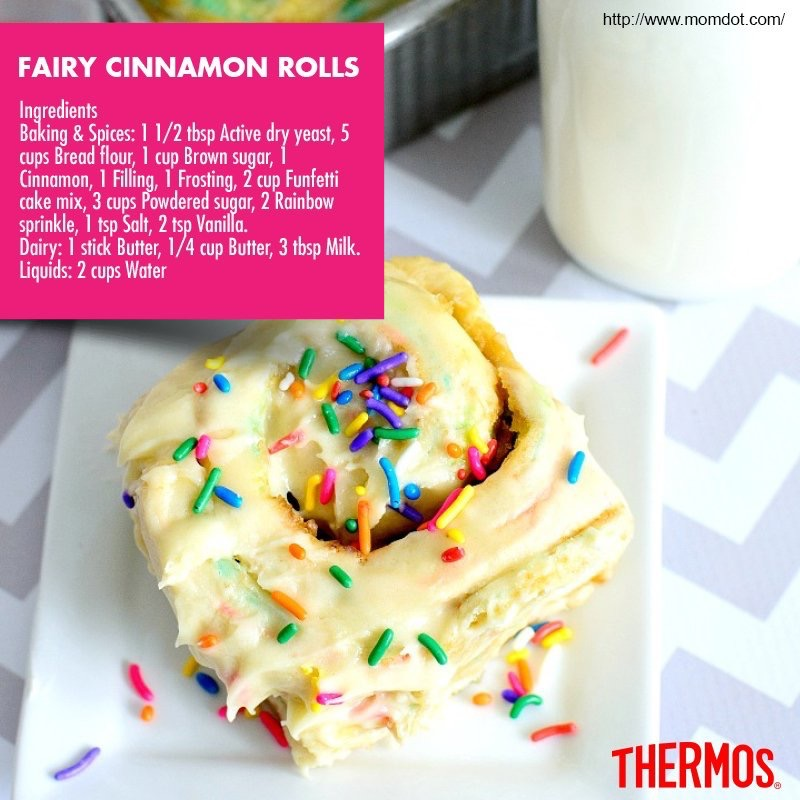 Thermos - Fairy Cinnamon Rolls