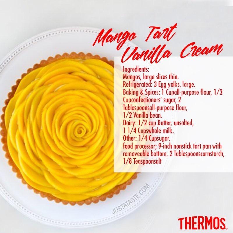 Thermos - Mango Tart Vanilla Cream
