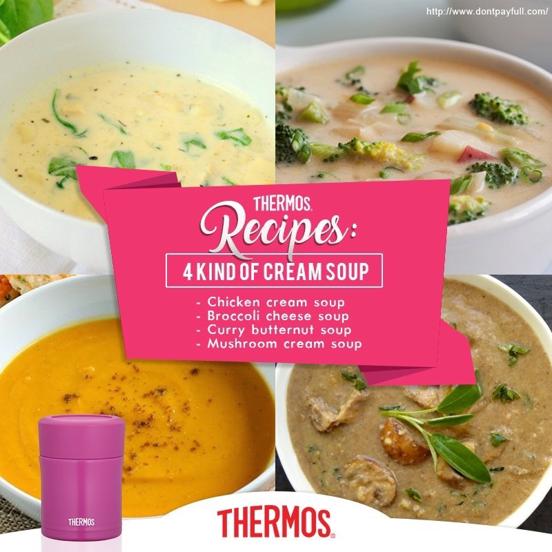 Thermos - 4 Kind of Soups