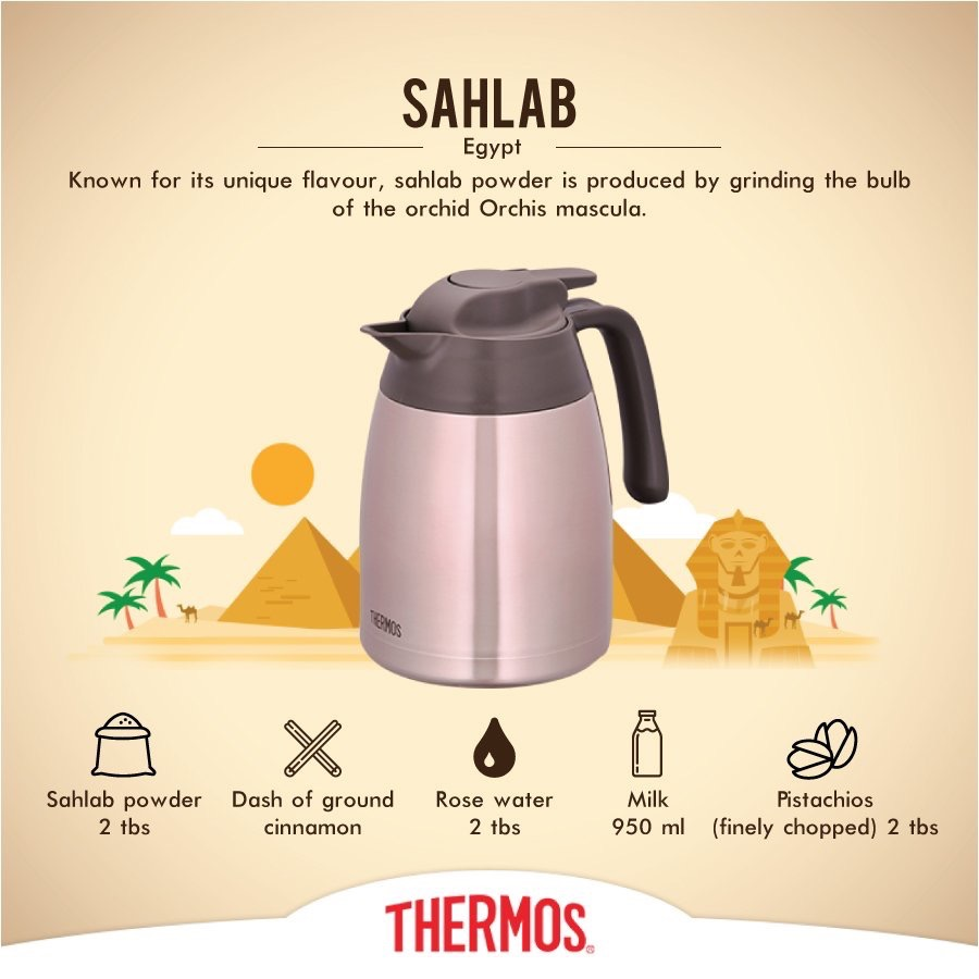 Thermos - Sahlab from Egypt
