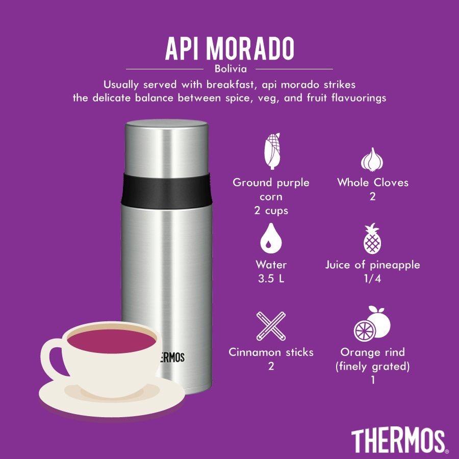 Thermos - Api Morado from Bolivia